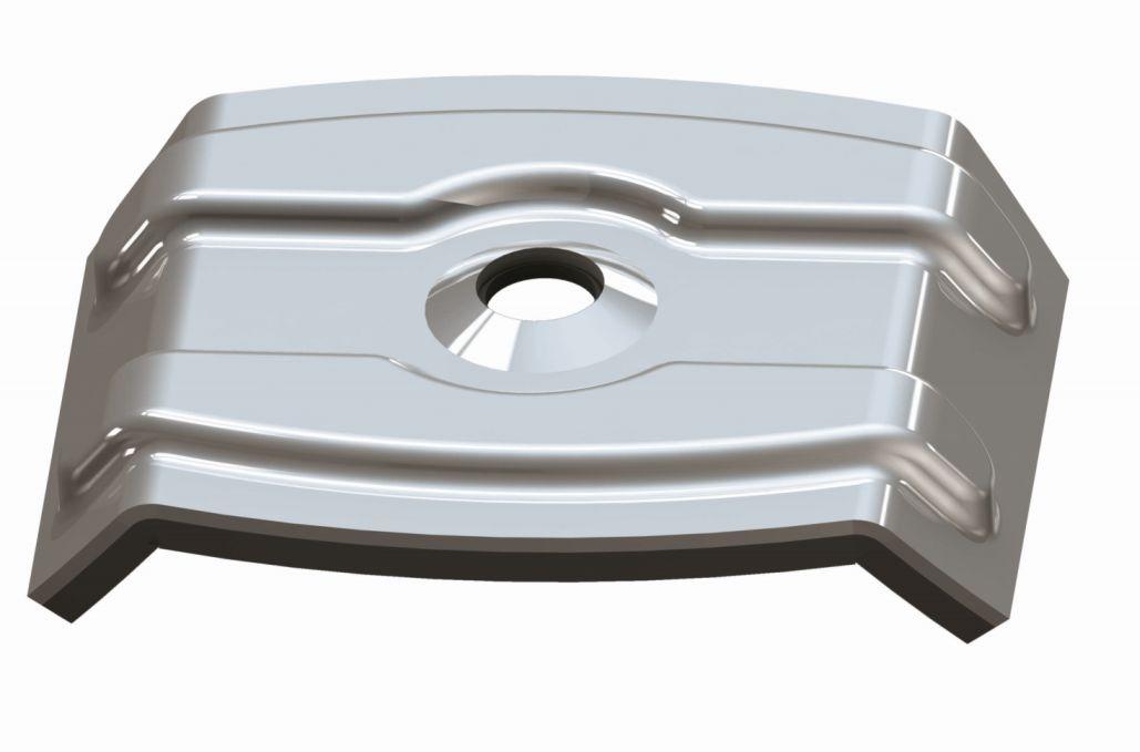 KÜWI - Kalotten für Trapezprofile Typ W, Aluminium W35-28 : …